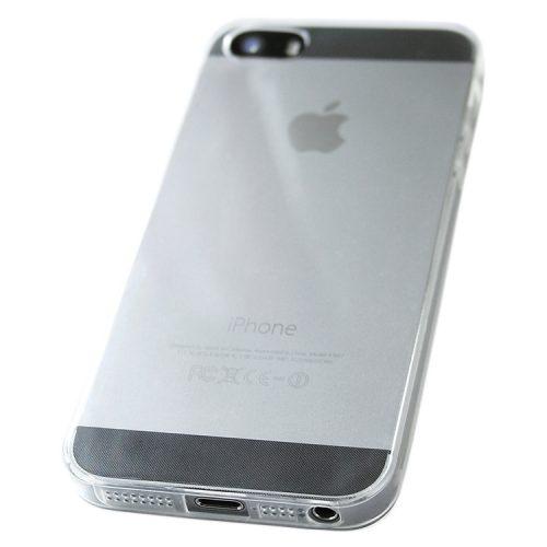iPhone 5 átlátszó szilikon védőtok