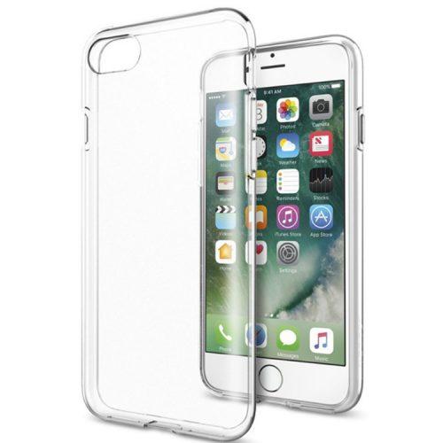 iPhone 7 átlátszó szilikon védőtok